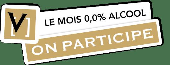 Le mois 0,0% alcool - ON PARTICIPE!