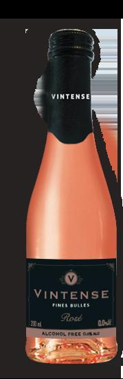 Rosé Vintense sans alcool