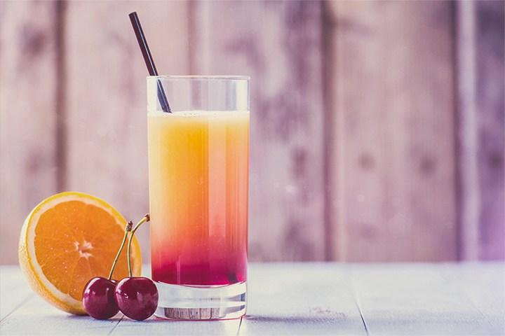 Cocktail Sans Alcool Vintense Sunrise